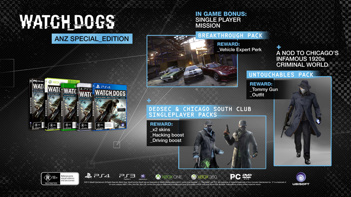 Watch Dogs  Different Editions